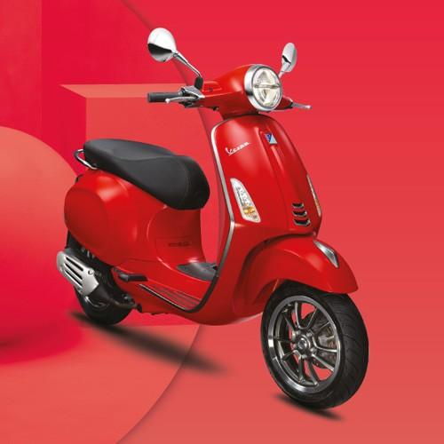 Vespa Primavera S 150 i-get ABS - Matte Red