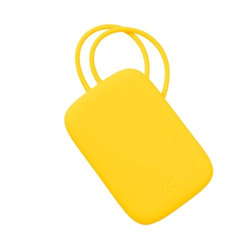90FUN Silicon Luggage Tag - Yellow