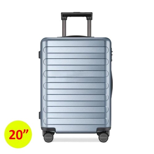 90FUN SEVEN-Bar Business Travel Suitcase 20 inch - Blue