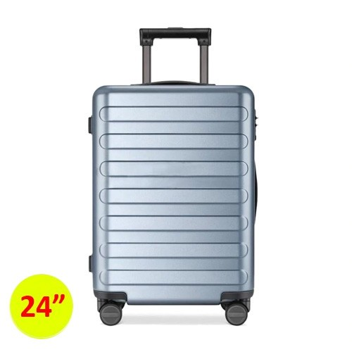 90FUN SEVEN-Bar Business Travel Suitcase 24inch - Blue