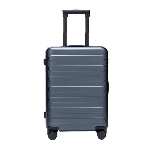 90FUN SEVEN-Bar Business Travel Suitcase 28inch - Dark Grey