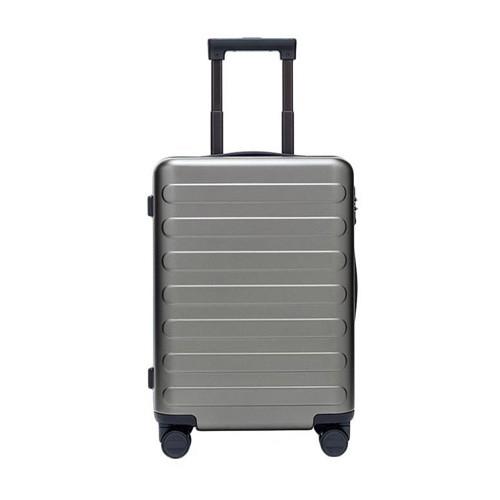 90FUN SEVEN-Bar Business Travel Suitcase 28inch - Light Grey