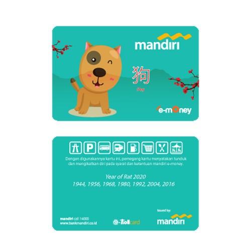Mandiri e-Money Shio - Anjing