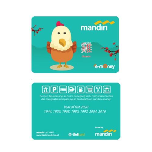 Mandiri e-Money Shio - Ayam
