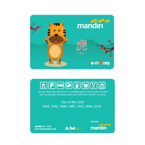 Mandiri e-Money Shio - Macan