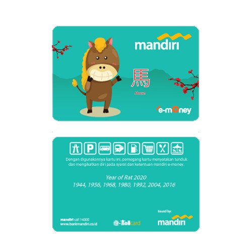 Mandiri e-Money Shio - Kuda
