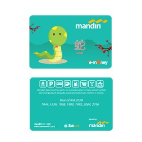 Mandiri e-Money Shio - Ular