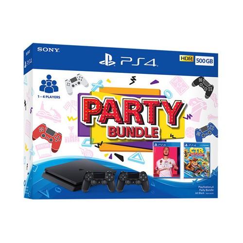 Sony PlayStation 4 Slim 500GB Party Bundle