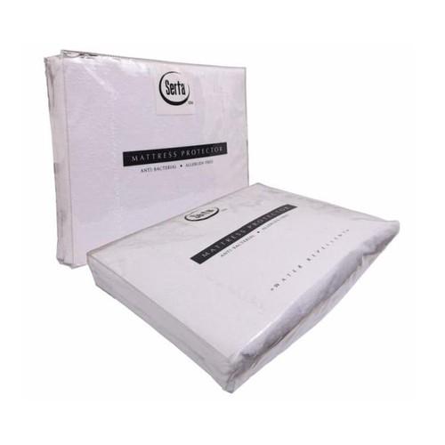 Serta - Mattrass Protector Waterproof (200x200x40) - White