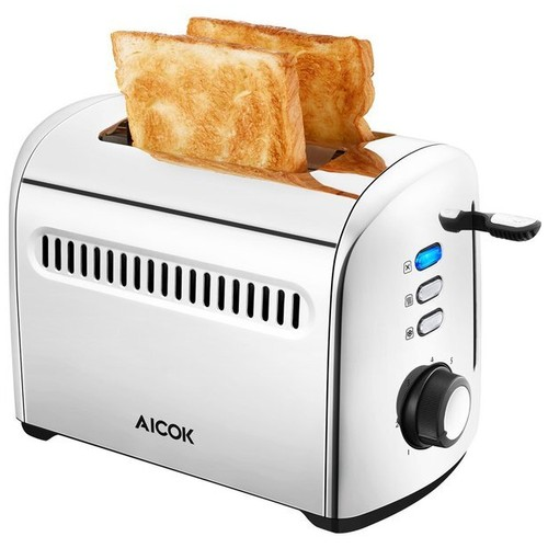 Pangangan Roti Tawar AICOOK 2 Slice Toaster ST-225