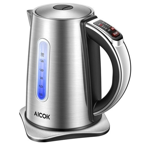 teko listrik AICOOK GS Stainless steel Electric kettle KE4053TC