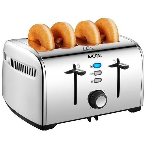 Pemanggang Roti AICOOK 4 Slice Toaster ST-525