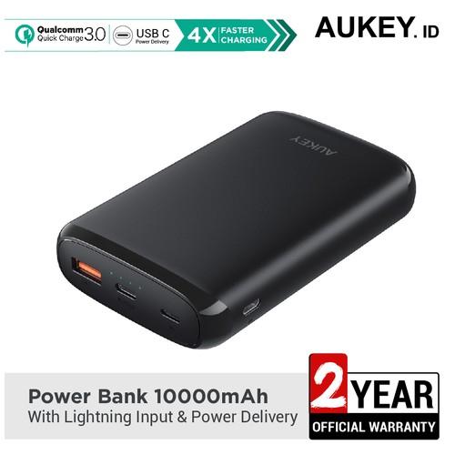 Aukey Power Bank 10.000mAh with Lightning Input & PD-500382