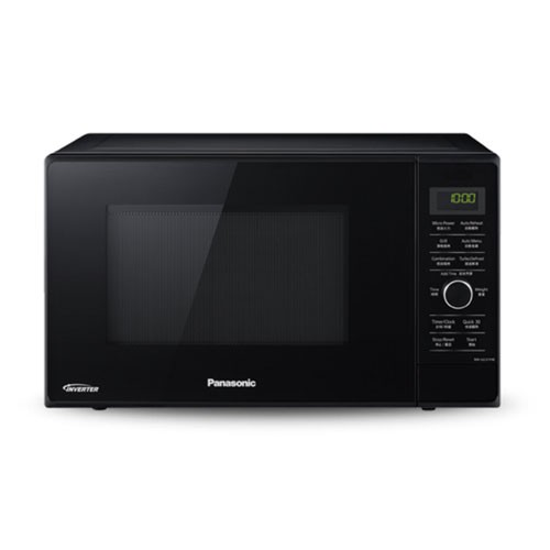Panasonic Microwave Oven Grill Dual Cooking 23L NN-GD37HBTTE - Black