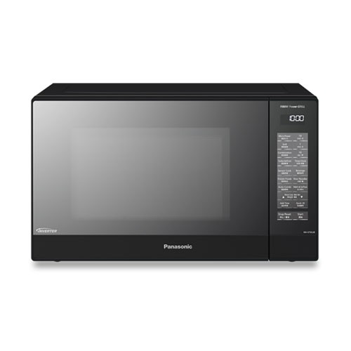 Panasonic Microwave Oven Grill Dual Cooking 31L NN-GT65JBTTE - Black