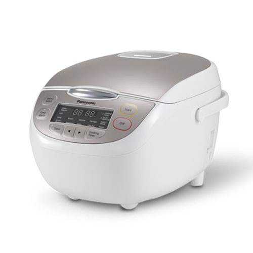 Panasonic Rice Cooker with 16 menus otomatic 1L SR-CP108NSR - White