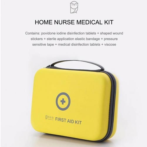 XIAOMI MIAOMIAOCE 153pcs Home First Aid Medical Kit Box - MOE-5102