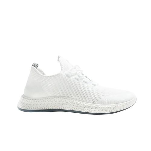 Sepatu sneakers pria Dane And Dine S0095 White 43