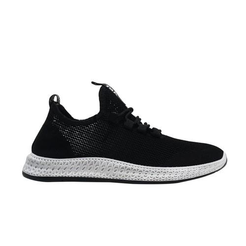 Sepatu sneakers pria Dane And Dine S0095 Black   40