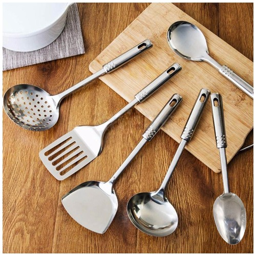 SPATULA STAINLESS STEEL SET 6 IN 1