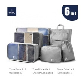 WIWU 6-in-1 Set Luggage Org