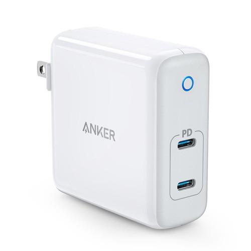ANKER A2029 GaN Tech PowerPort Atom PD 2 - 60W Dual Port USB-C Wall Charger