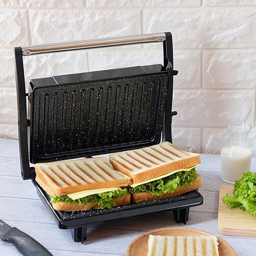 Idealife Panini Press / Toaster (Pemanggang Roti/Daging) - IL-203