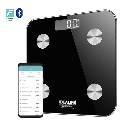 Idealife Digital Bathroom Smart Scale (Timbangan Badan Pintar) IL-273