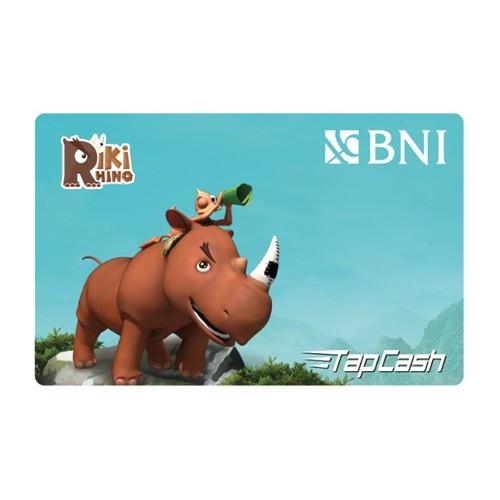 BNI Tap Cash Riki Rhino - Riki & Beni