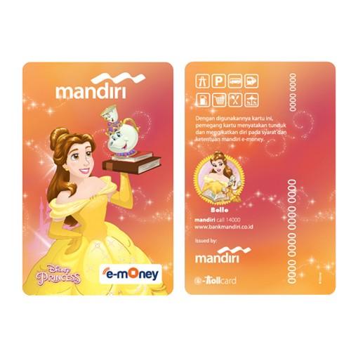 Mandiri e-Money Princess - Belle