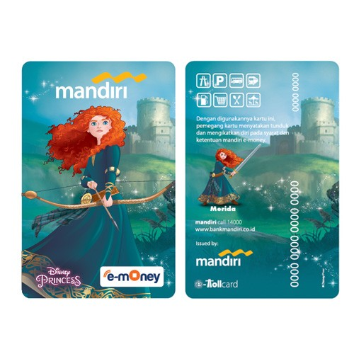 Mandiri e-Money Princess - Merida