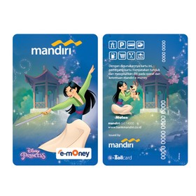 Mandiri e-Money Princess -
