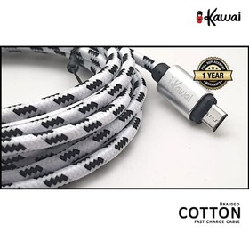 Cable Braided 100% Cotton T