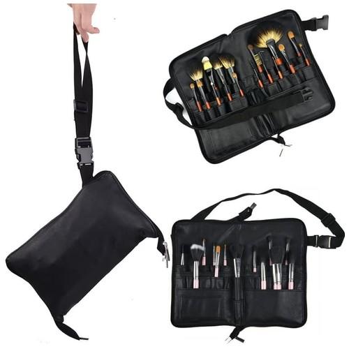 29 Slot Pro Make UP Cosmetic Bag Organizer + Strap Holder Tas Kosmetik
