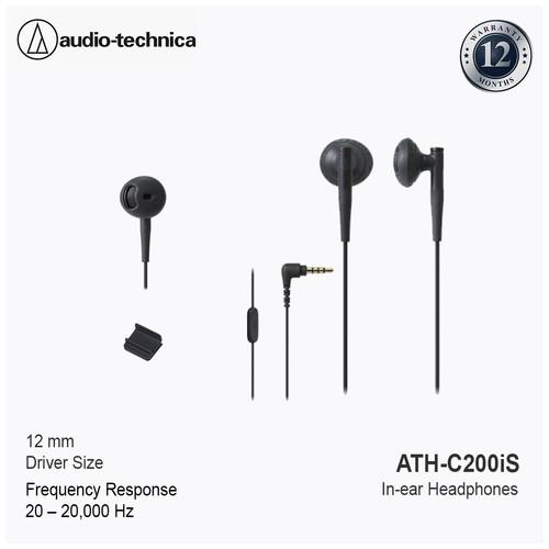 Audio-Technica In-ear Headphone ATH-C200iS