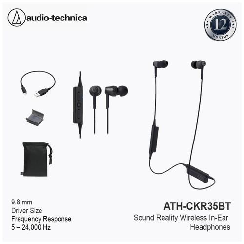 Audio Technica ATH-CKR35BT Sound Reality Wireless - Black
