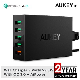 Aukey Charger 5 Ports 54W Q
