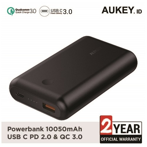 Aukey Power Bank PB-XD10 10050 mAh USB C PD 2.0 & QC 3.0 - 500278