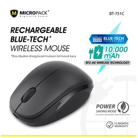 Micropack Wireless Mouse Bl