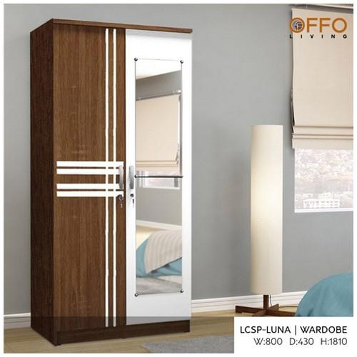 Offo Living - Lemari 2 Pintu Luna - LCSP-LUNA
