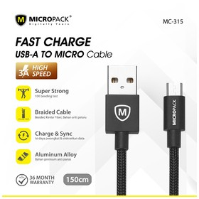 Micropack Cable Fast Chargi
