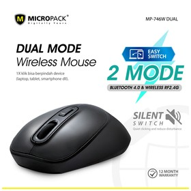 Micropack Dual Mouse Wirele