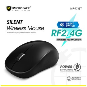 Micropack Wireless Mouse Si