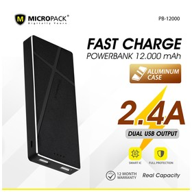 Micropack Powerbank 12000mA