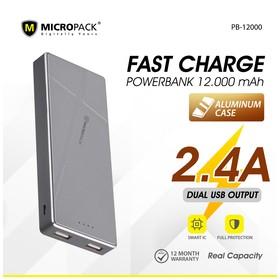 Micropack Powerbank 12000mA