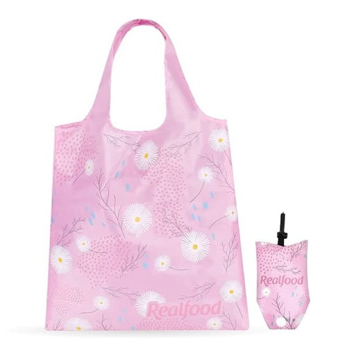 Realfood Flowery Foldable Bag