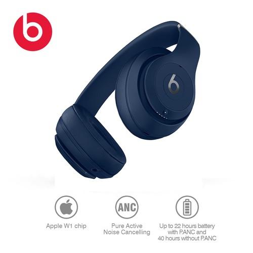 Beats Studio 3 Wireless, Navy Blue