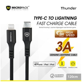 Micropack Cable Thunder USB