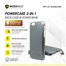 Micropack Power Case for iP