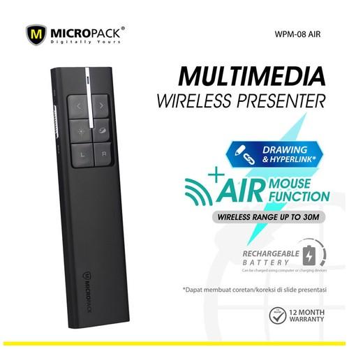 Micropack Wireless Presenter Air Mouse Multimedia (WPM-08 AIR)
